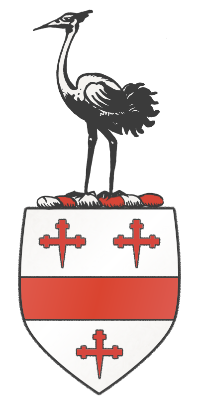 Crane of Suffolk, England Coat Of Arms