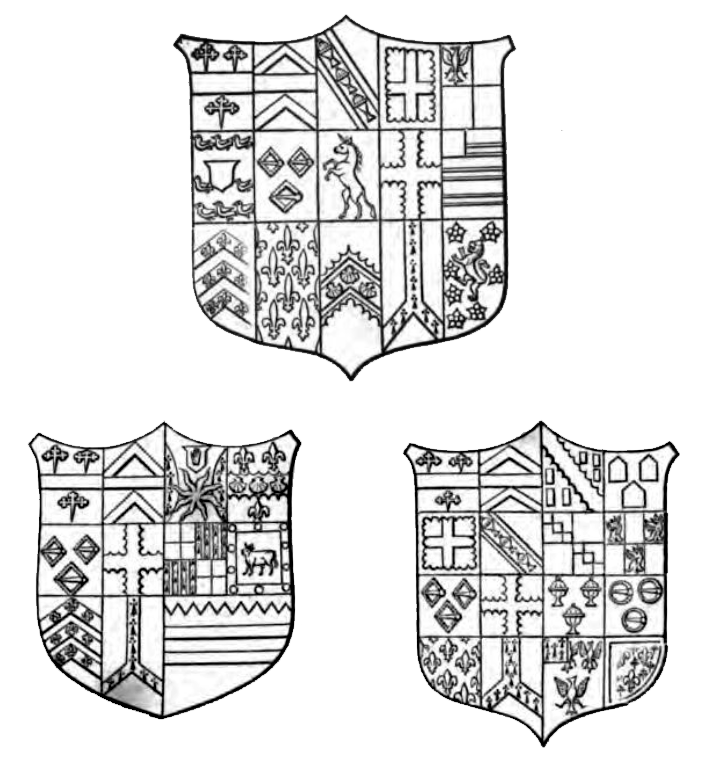 Shields Of Arms From The Crane Monument, Chilton Church
