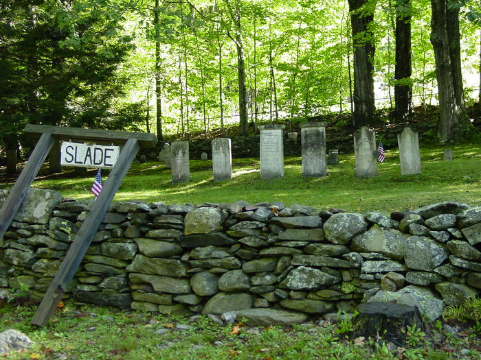 Slade Cemetery, Alstead New Hampshire